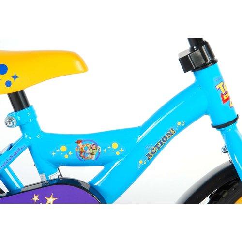 Toy Story Disney Toy Story 4 Kinderfiets - Jongens - 10 inch - Blauw/Geel