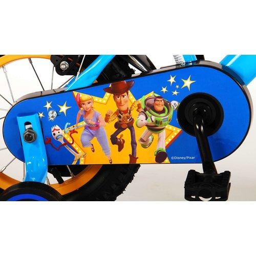 Toy Story Disney Toy Story Kinderfiets - Jongens - 12 inch - Blauw/Geel - 2 handremmen