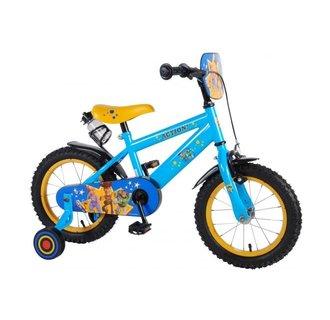 Disney Toy Story Kinderfiets - Jongens - 14 inch - Blauw