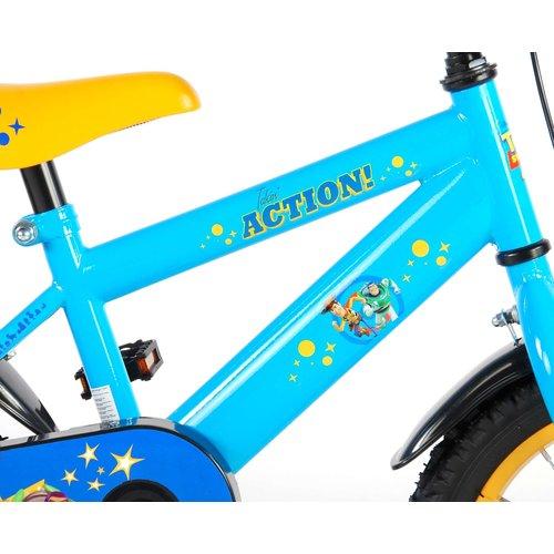 Toy Story Disney Toy Story Kinderfiets - Jongens - 14 inch - Blauw