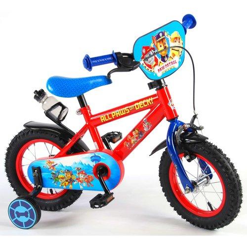 Paw Patrol Paw Patrol Kinderfiets - Jongens - 12 inch - Rood/Blauw