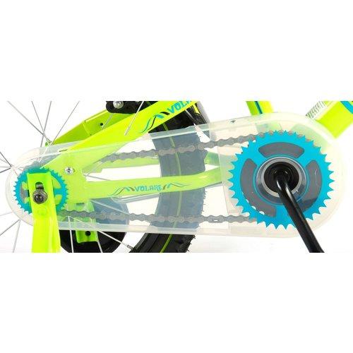 Volare Volare Electric Green Kinderfiets - Jongens - 16 inch - Groen - 2 handremmen