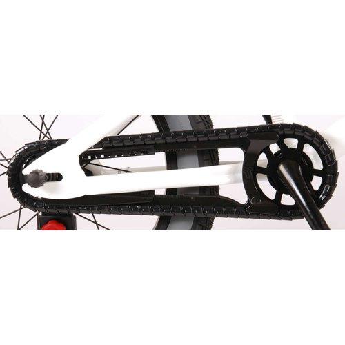 Volare Volare Cool Rider Kinderfiets - Jongens - 16 inch - Wit - 95% afgemonteerd