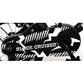 Volare Volare Black Cruiser Kinderfiets - Jongens - 12 inch - Zwart - twee handremmen