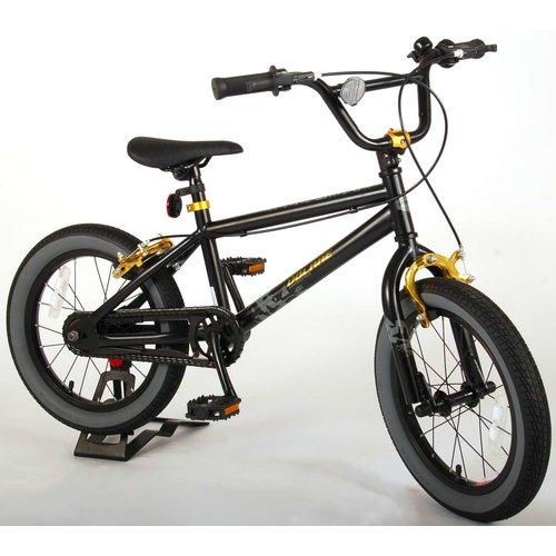 Volare Volare Cool Rider Kinderfiets - Jongens - 16 inch - Zwart - twee handremmen - 95% afgemonteerd