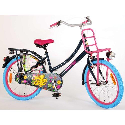 ChupaChups Chupa Chups Oma Kinderfiets - Meisjes - 20 inch - (Donker)Blauw/Roze