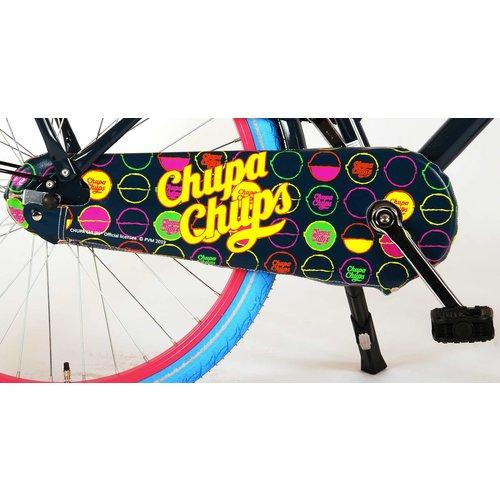 ChupaChups Chupa Chups Oma Kinderfiets - Meisjes - 24 inch - Donker Blauw/Roze