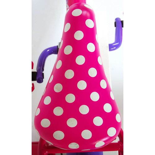 Disney Minnie Bow Tique Disney Minnie Bow-Tique Kinderfiets - Meisjes - 12 inch - Roze Wit - 95% afgemonteerd