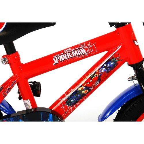 Spiderman Ultimate Spider-Man Kinderfiets - Jongens - 12 inch - Blauw/Rood