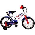 Volare Volare Super Kinderfiets - Jongens - 14 inch - Wit - twee handremmen