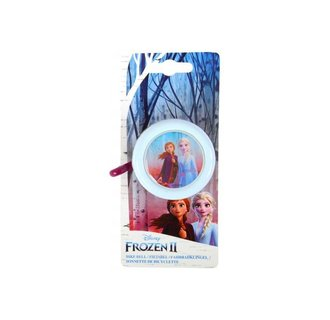 Disney Frozen 2 Fietsbel - Meisjes - Licht Blauw Paars