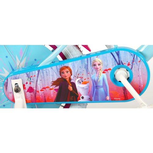 Disney Frozen 2 Disney Frozen 2 - Kinderfiets - Meisjes - 16 inch - Blauw/Paars - 95% afgemonteerd