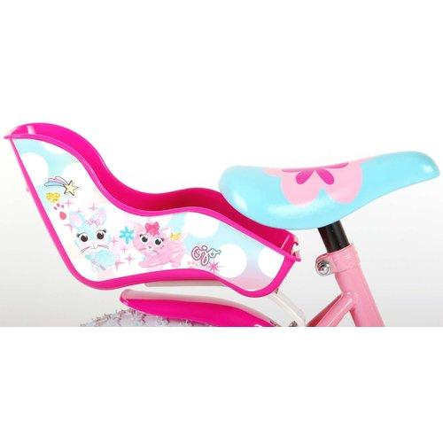 OJO OJO Kinderfiets - Meisjes - 14 inch - Roze