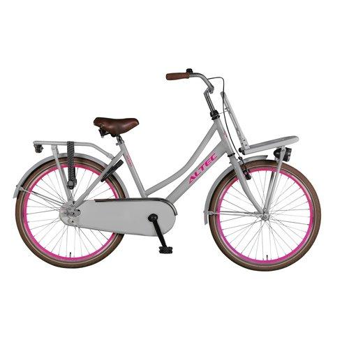 Altec Altec Urban 24inch Transportfiets Grijs/ Roze
