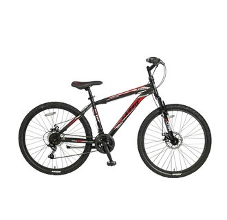 Umit Gigantus 26 inch MTB 2D Black/Red MATT