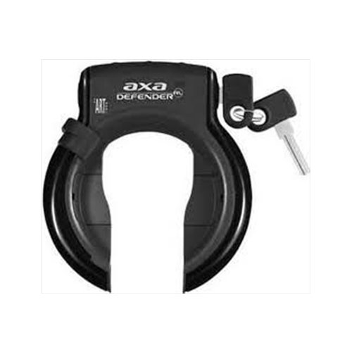 Axa Axa Defender Ringslot Zwart vaste sleutel