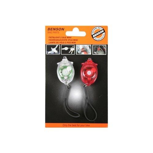 Altec Fietsverlichting 2 DLG Mini Lifetime  Elast 41862