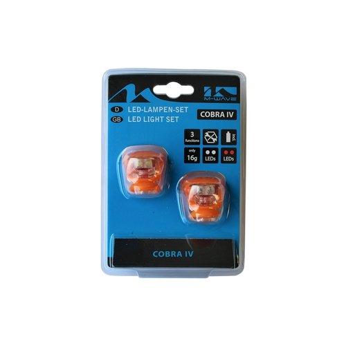 Altec Fietsverlichting set Led Cobra 220637 Oranje