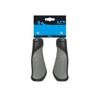 Handvat Ergogel Comfort 125mm 410202 Zwart/Grijs