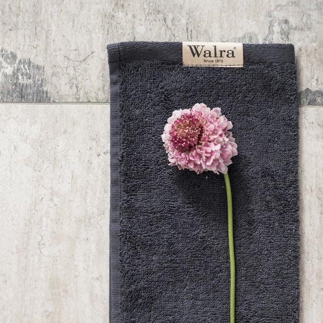 Walra Gastendoek Antraciet  30x50cm - Set van 2