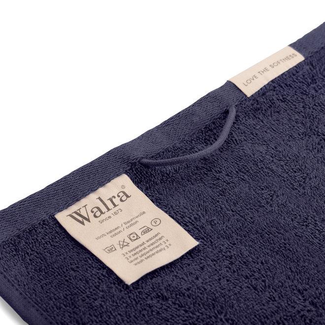 Walra Gastendoek Navy 30x50cm - Set van 2
