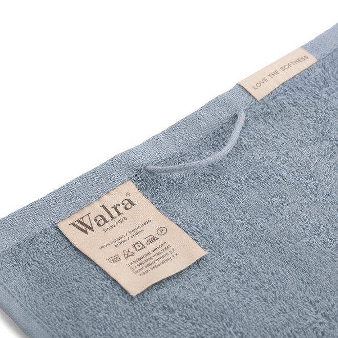 Walra Gastendoek Blauw 30x50cm - Set van 2