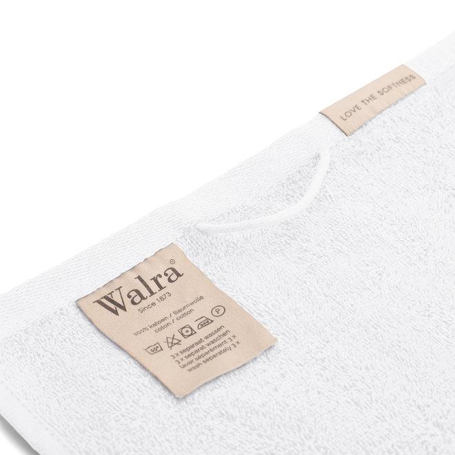 Walra Gastendoek Wit  30x50cm - Set van 6