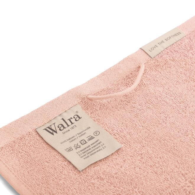 Walra Gastendoek Roze 30x50cm - Set van 6