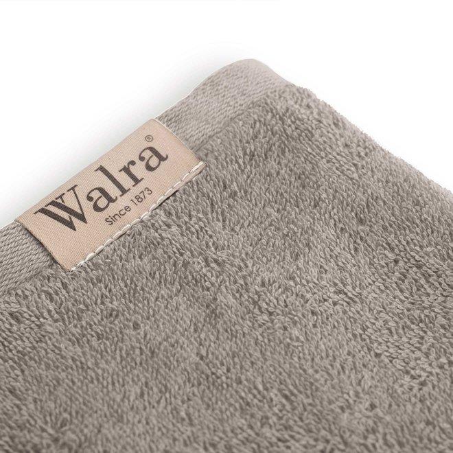 Walra Handdoek Taupe 60x110cm