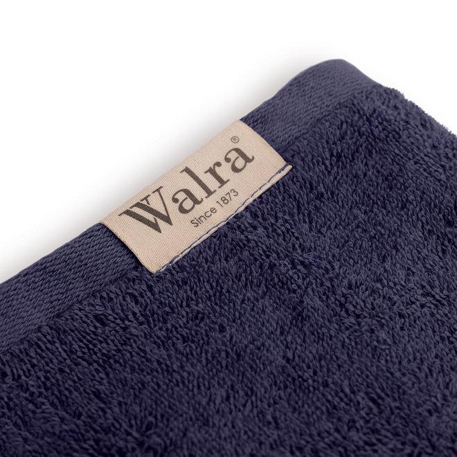 Walra Handdoek Navy 60x110cm - Set van 5
