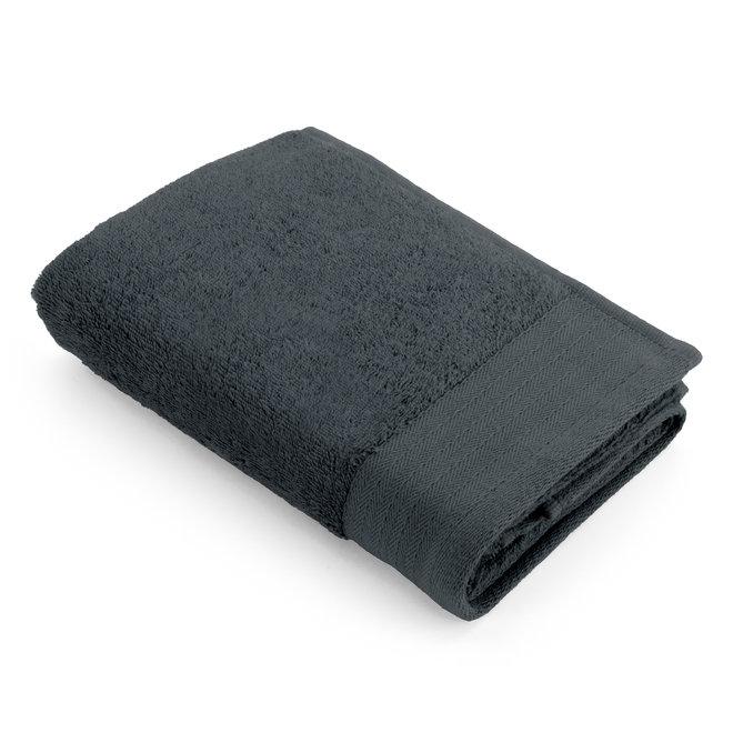Walra Handdoek Antraciet 60x110cm - Set van 5