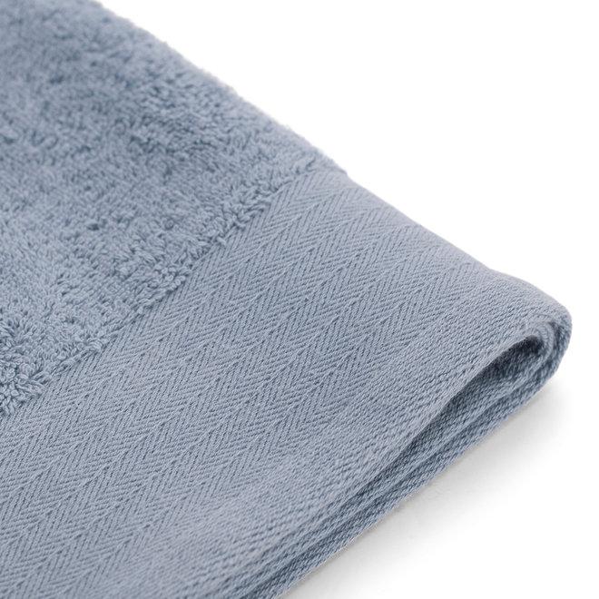 Walra Handdoek Blauw 60x110cm - Set van 10