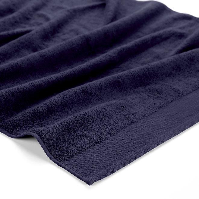 Walra Handdoek Navy 60x110cm - Set van 10
