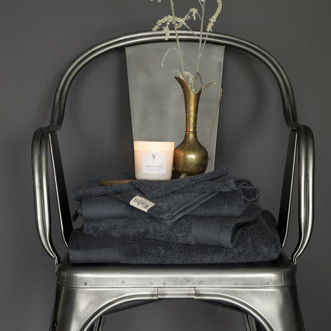 Walra Handdoek Antraciet 60x110cm - Set van 10