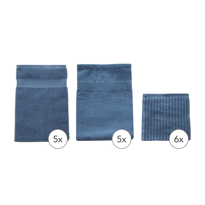 Keukentextiel Set Blauw