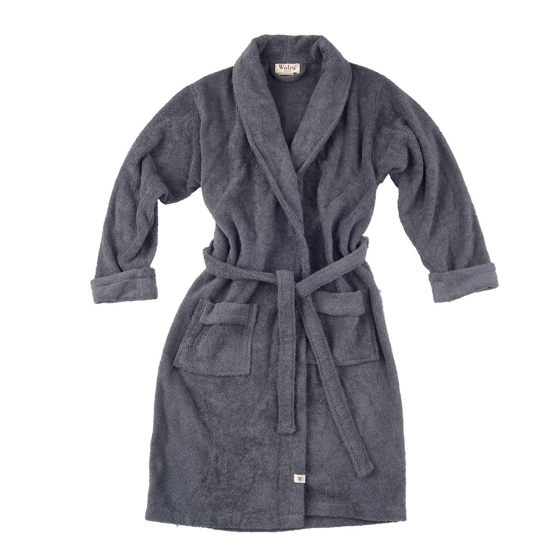 Walra Home Robe Badjas Antraciet