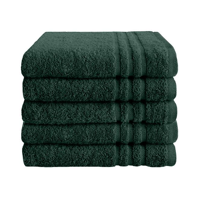 Handdoek Donker groen