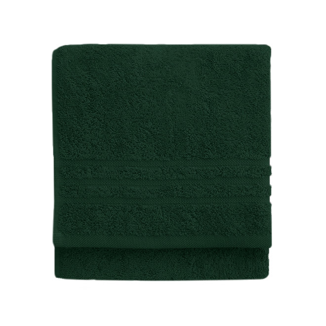 Byrklund Handdoek Donker groen 50x100cm - Set van  5