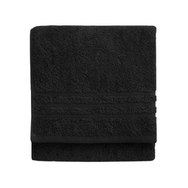 Byrklund Handdoek Zwart 50x100cm - Set van  5