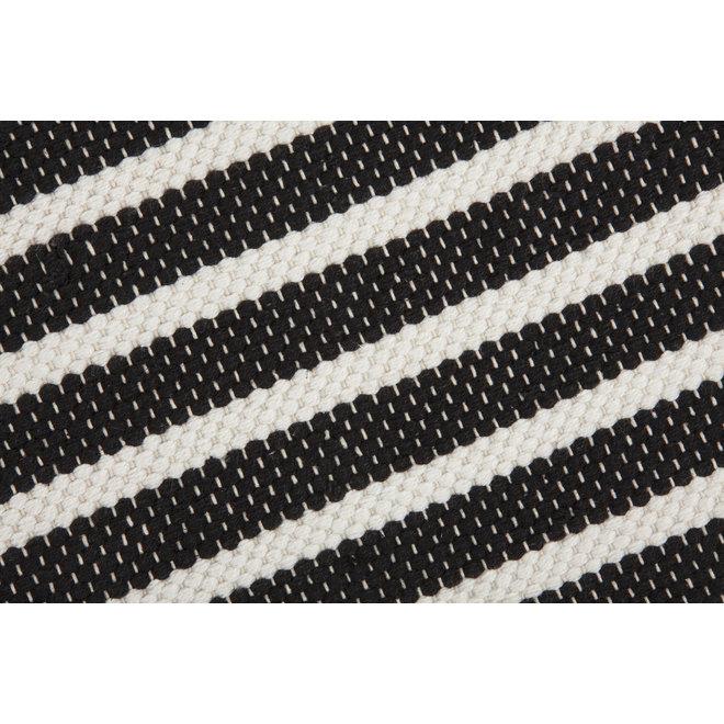 Walra Badmat Stripes & Structure Antraciet