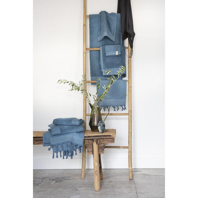 Walra Handdoek Petrol 50x100cm - Set van 5