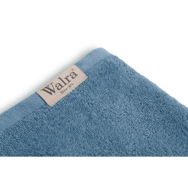 Walra Handdoek Petrol 60x110cm - Set van 5