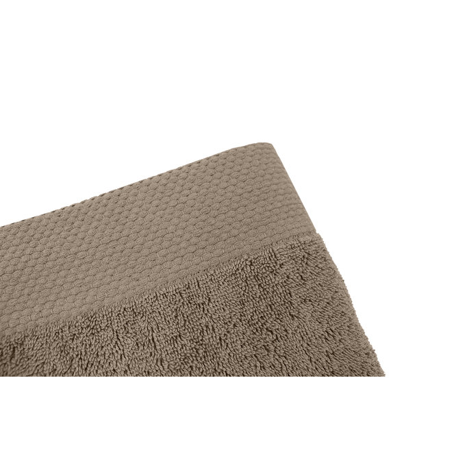 EM Bath Premium Handdoek Taupe 50x100cm
