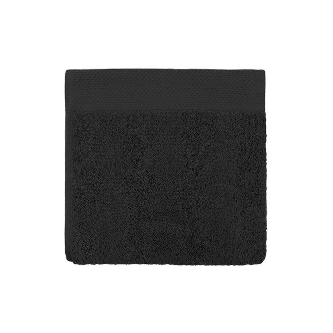 EM Bath Premium Handdoek Zwart 50x100cm - Set van 10