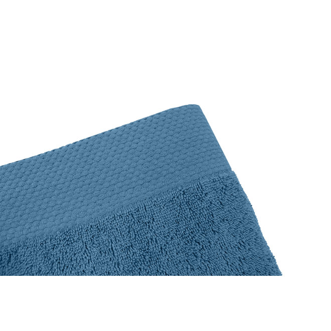 EM Bath Premium Handdoek Blauw 50x100cm - Set van 10