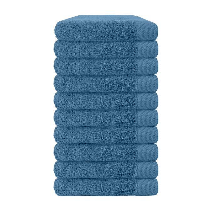 Premium Handdoek Blauw 50x100cm