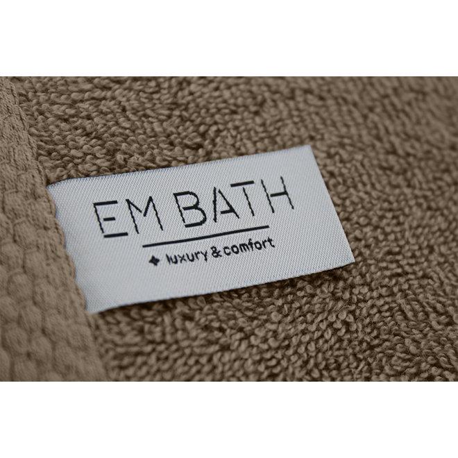 EM Bath Premium Badlaken Taupe 70x140cm