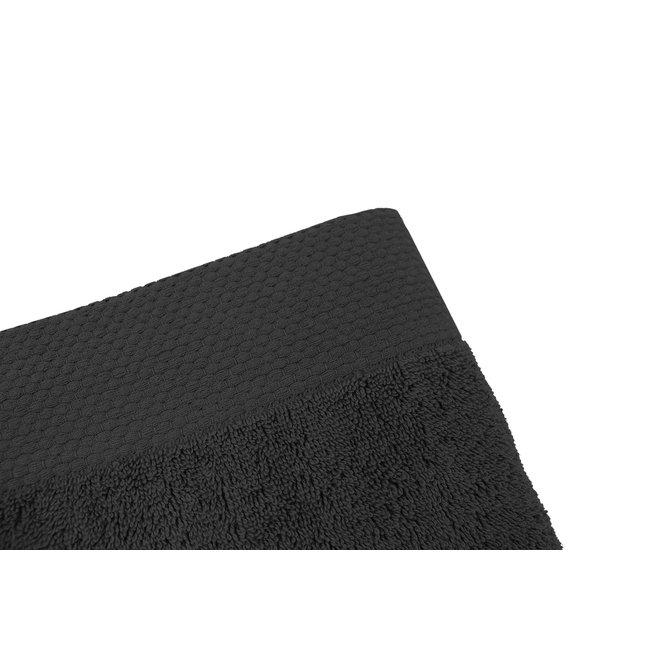 EM Bath Premium Badlaken Zwart 70x140cm - Set van 5