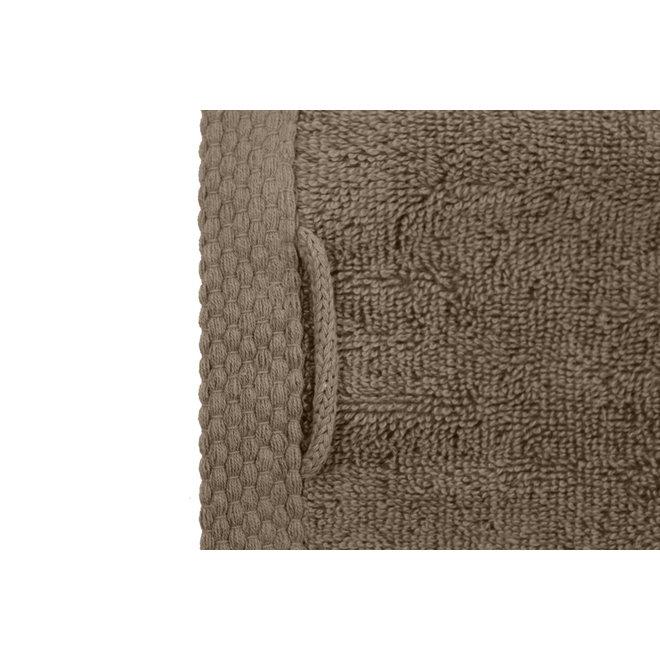 EM Bath Premium Badlaken Taupe 70x140cm - Set van 10