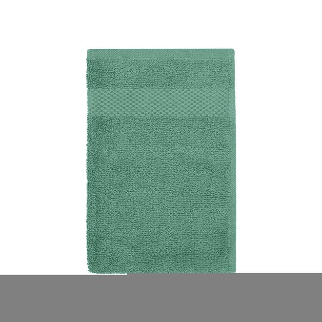 EM Bath Gastendoek Zeegroen 30x50cm - Set van 2